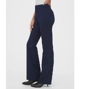 NWT Gap High Rise Curvy Slim Boot Pants Blu 12 c70